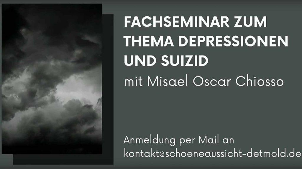 Fachseminar zum Thema Depressionen und Suizid